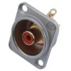 NEUTRIK RCA mounting socket rd NF2D2