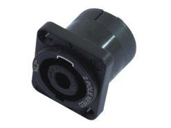 NEUTRIK Speakon mounting socket 2pin NL2MP
