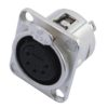 NEUTRIK XLR mounting socket 5pin NC5FDL-1