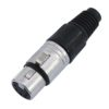 NEUTRIK XLR socket 5pin NC5FX