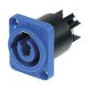 Neutrik Chassis-input Blu