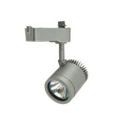 New York-S Argento (RAL9006), Spot max 50W MR-16 GU5.3