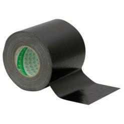 Nichiban Gaffa Tape 150 mm Nero, 150mm / 50m, molto largo e resistente