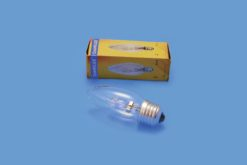 OMNILUX 230V/18W E-27 candle lamp clear H