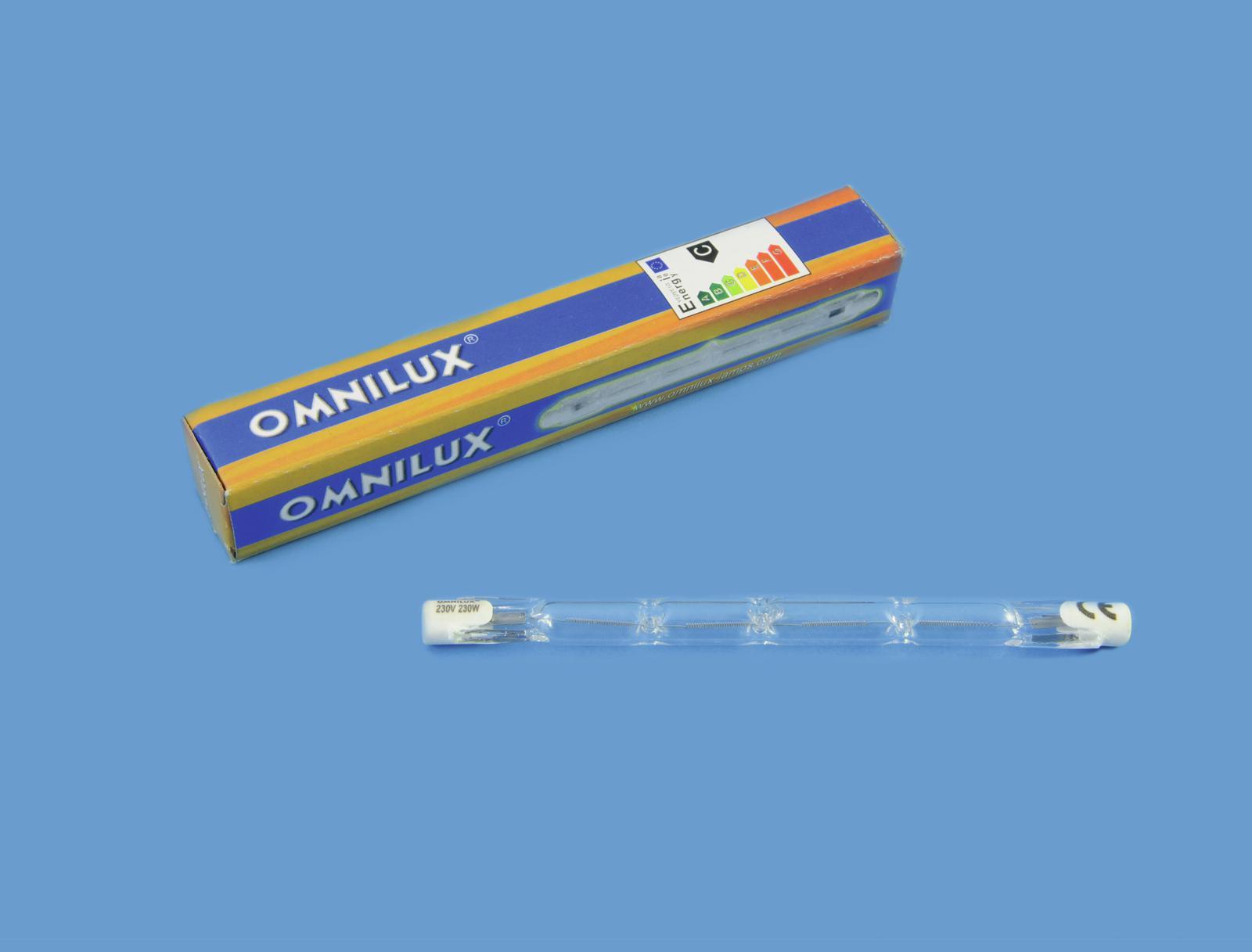 OMNILUX 230V/230W R7s 118mm Pole Burner H