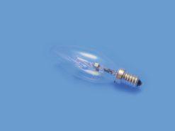 OMNILUX 230V/28W E-14 candle lamp clear H