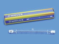 OMNILUX 230V/800W R7s 118mm Pole Burner