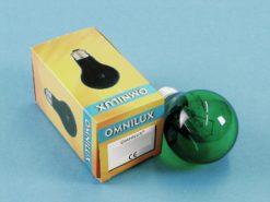 OMNILUX A19 230V/25W E-27 green