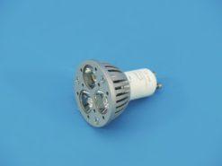 OMNILUX GU-10 230V 3x1W LED blue