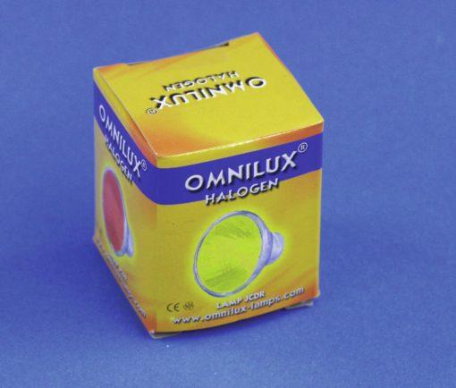 OMNILUX JCDR 230V/35W GX-5.3 1500h yellow