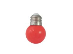 OMNILUX LED G45 230V 1W E-27 red
