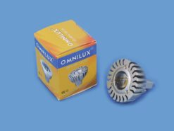 OMNILUX MR-16 12V GU-5.3 3W LED green CR
