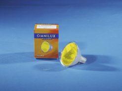 OMNILUX MR-16 12V/50W GX-5.3 SP yellow