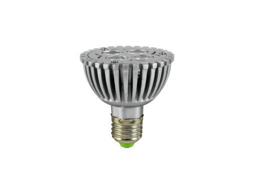 OMNILUX PAR-20 230V E-27 4x1 LEDs green