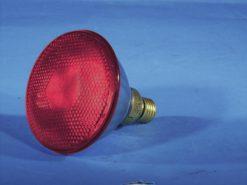 OMNILUX PAR-38 230V/80W E-27 FL red