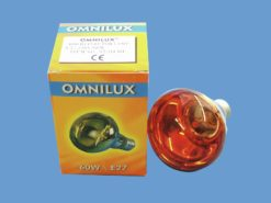 OMNILUX R80 230V/60W E-27 orange