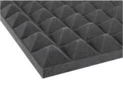 OMNITRONIC Accoustic Foam, Pyramid 50mm, 50x50cm