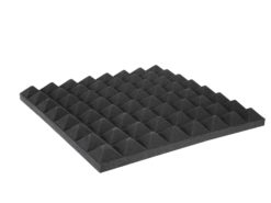 OMNITRONIC Accoustic Foam, Pyramid 50mm, 50x50cm