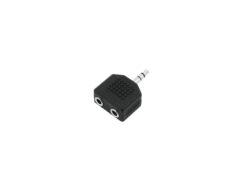OMNITRONIC Adapter 2xJack(F)/3.5 Jack stereo 10x