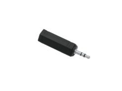 OMNITRONIC Adapter 3.5 Jack(M)/6.35(F) stereo 10x