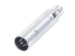 OMNITRONIC Adapter 3pin XLR(F)/5pin XLR(M)
