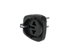 OMNITRONIC Adapter EU/CH Plug 10A bk