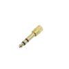 OMNITRONIC Adapter Jack(M)/3.5 Jack(F) 10x