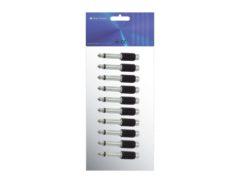 OMNITRONIC Adapter RCA(F)/Jack(M) 10x