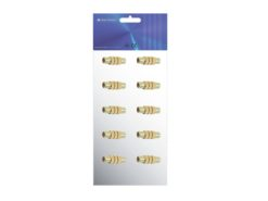 OMNITRONIC Adapter RCA(F)/RCA(F) mono met 10x