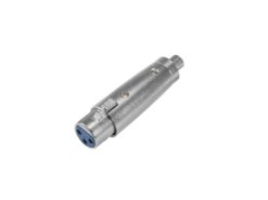OMNITRONIC Adapter RCA(F)/XLR(F)