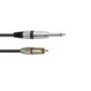 OMNITRONIC Adaptercable RCA/Jack 0.9m rd