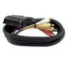 OMNITRONIC Adaptercable Scart/6xRCA 1.5m