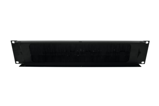 OMNITRONIC Front Panel Rackpanel with Brushes 2U