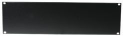 OMNITRONIC Front Panel Z-19U-shaped steel black 3U