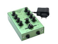 OMNITRONIC GNOME-202 Mini Mixer green