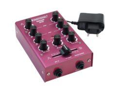 OMNITRONIC GNOME-202 Mini Mixer red