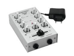 OMNITRONIC GNOME-202 Mini Mixer silver