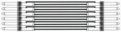 OMNITRONIC Jack cable 6.3 Patchcord mono 6x1.5m