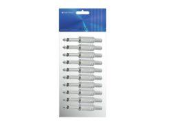 OMNITRONIC Jack plug 6.3 mono 10x