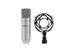 OMNITRONIC MIC CM-77 Condenser Microphpone