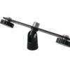 OMNITRONIC Microphone T-bar for 2 Microphones