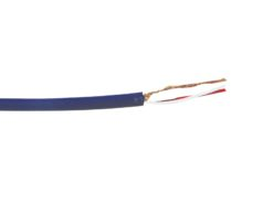 OMNITRONIC Microphone cable 2x0.22 100m bu