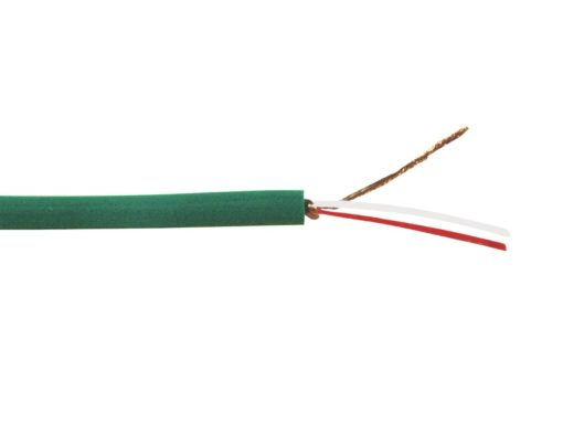 OMNITRONIC Microphone cable 2x0.22 100m gn