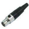 OMNITRONIC Mini XLR socket 3pin