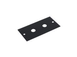 OMNITRONIC Module 2U 2x 6.3mm plug 44x88mm