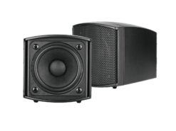 OMNITRONIC OD-2 Wall Speaker 8Ohms black 2x