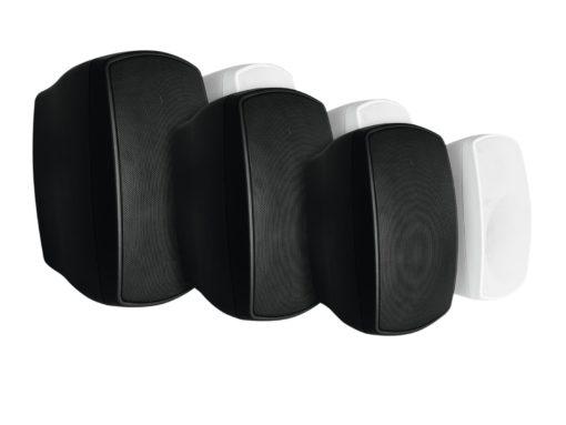 OMNITRONIC OD-4T Wall Speaker 100V black 2x