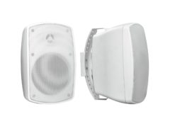 OMNITRONIC OD-5A Wall Speaker active white 2x