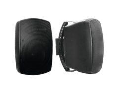 OMNITRONIC OD-6 Wall Speaker 8Ohm black 2x