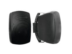 OMNITRONIC OD-6A Wall Speaker active black 2x